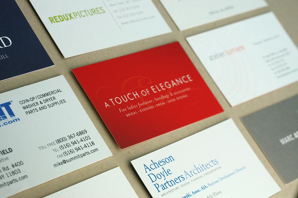 Elegant Business Card Designs – Frank M. Kiernan – Design Print ...